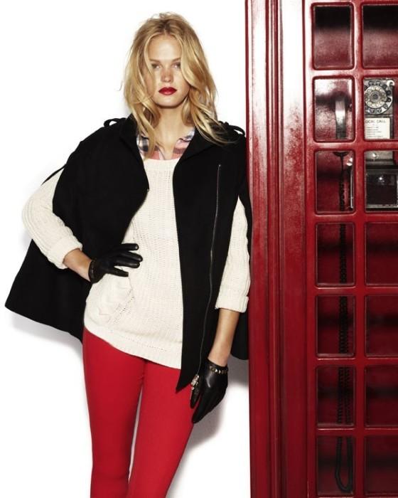 blanco-estilo-londinense-en-su-campana-oi-2012-13-con-erin-heatherton-chaleco-capa-sobre-jersey-de-punto-con-pantalon-pitillo-rojo