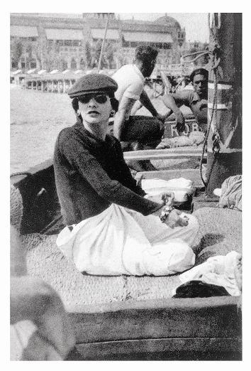 Coco Chanel 1936 en Venecia