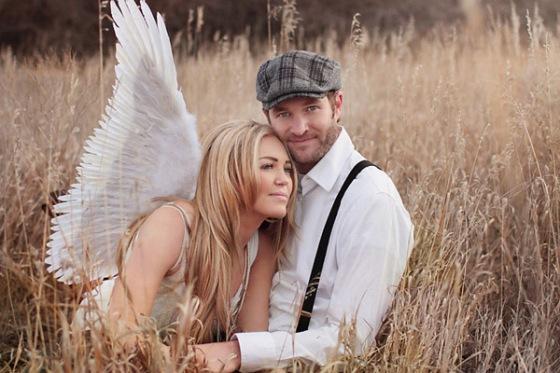 fotos novia alas