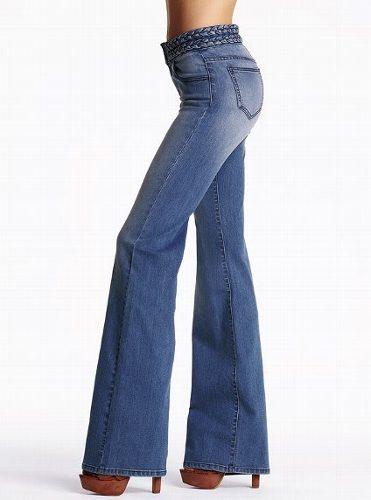 jeans-acampanado-victorias-secret-talle-6_MLA-O-3088886116_082012