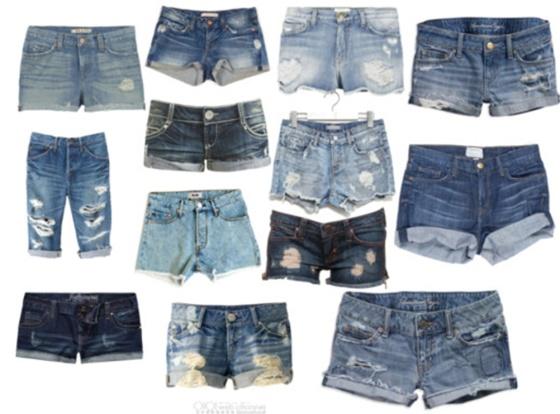 shorts jean