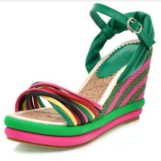 2013-new-summer-sandals-wedges-shoes-for-women-Women-meters-color-block-decoration-straw-braid-platform