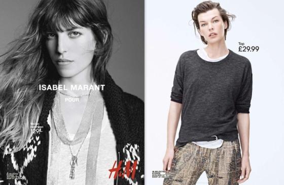 Isabel-Marant-pour-HM-ad-campaign-2013-Lou-Doillon-milla-jovovich
