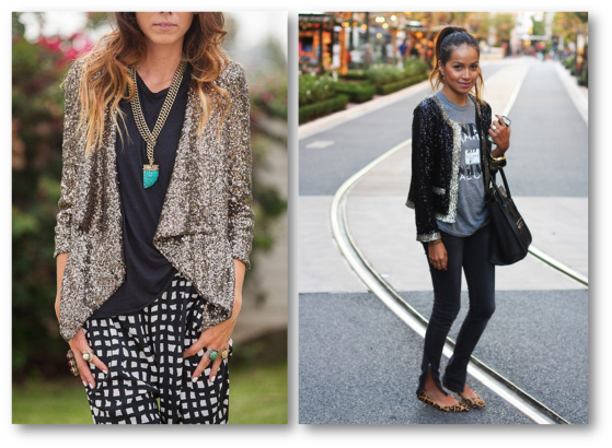sequin blazer blog bloggers street style